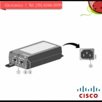 ADAPTADOR DE PODER CISCO POWER INJECTOR - AP-3600 SERIES W/ MODULES-SPARE UNIDAD